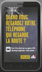 Telephone qui regarde la route?